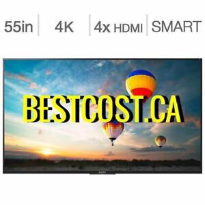 Télévision LED TV 55'' POUCEE XBR55X800E 4K ULTRA HDR SMART ANDROID WI-FI SONY - BESTCOST.CA