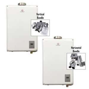 Eccotemp 45HI Propane/NG Tankless Water Heater + Vent Kit