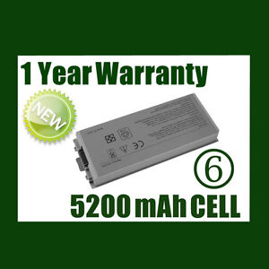 New Battery for DELL Latitude D810 M70 D810 OC5340 C5340 C5331 D5505 D5540
