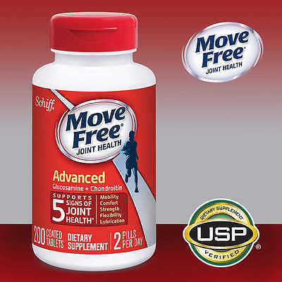 Schiff Move Free Advanced Triple Strength 200 Tablets  Joint Health