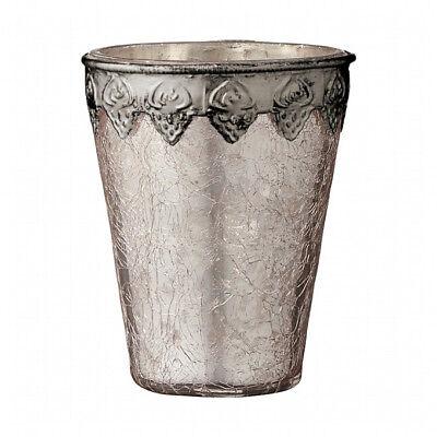 Rosa Vintage Tee (Teelichthalter Windlicht 'Deliah' rosa Vintage Retro Skandinavisch Lene Bjerre)