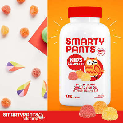Smarty Pants Kids Childrens Complete Multi-Vitamin 180 Gummies All-In-One NEW!