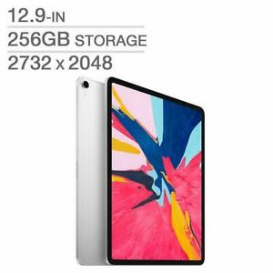 Apple iPad Pro 3rd Gen 12.9 INCH 256GB A12X Wi-Fi ( Silver ) MTFN2VC/A - WE SHIP EVERYWHERE IN CANADA ! - BESTCOST.CA