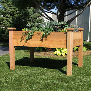 Western Red Cedar! ELEVATED Garden Structures London Ontario image 1