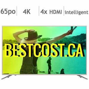 Télévision LED TV 65'' POUCE LC-65N7000U 4K ULTRA UHD HDR Smart Wi-Fi Sharp - BESTCOST.CA