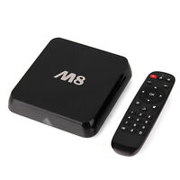 Android TV Box M8 Quad Core FAST / POWERFULLL  TV UNLIMITED