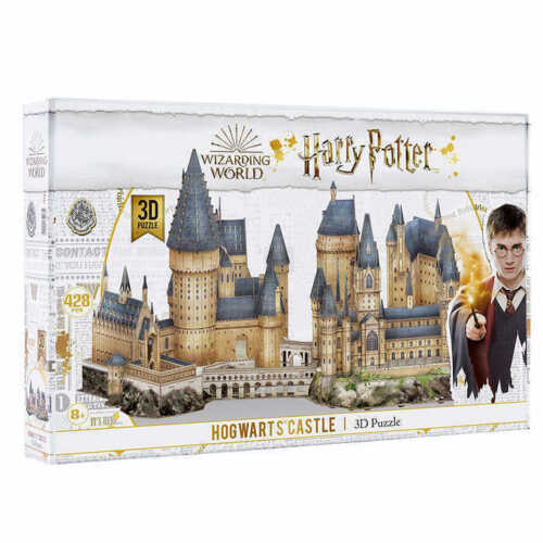 NIB Harry Potter Hogwarts Castle 3D Puzzle