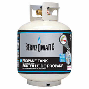 BRAND NEW 20 LB PROPANE / BBQ TANK WITH GAUGE = FULL OR EMPTY
