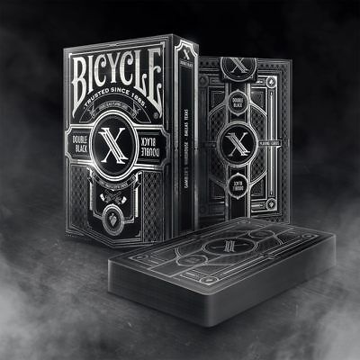 Bicycle Double Black 2 Limited Edition Playing Cards Printed By USPCC Brand New