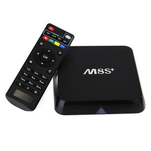 **M8S+ Quad Core Android 5.1 2G/8G 4K 16.0 Kodi TV Box