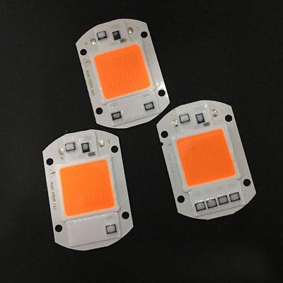 Chip Vac (220V 110VAC 20/30/50W Full Spectrum LED COB Chip Grow Light Plant Growth Lamp)