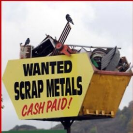Scrap metal wanted cash paid
