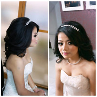 $50up bridal package makeup and hair mobile