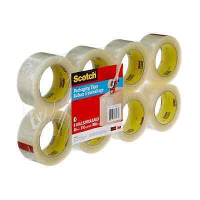 3m Scotch Moving Storage Heaving Duty Packing Tape - 8 Rolls 1.88 X 54.6 Yds