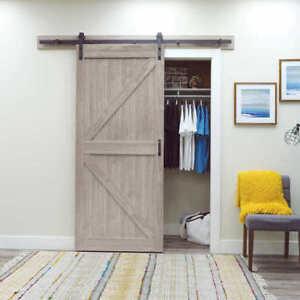 "BRAND NEW Renin 36"" Barn Style K Door with Hardware Kit"