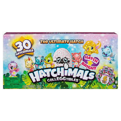 Hatchimals CollEGGtibles 30 Pack Set The Ultimate Hatch 24 Eggs To Un Hatch Age5