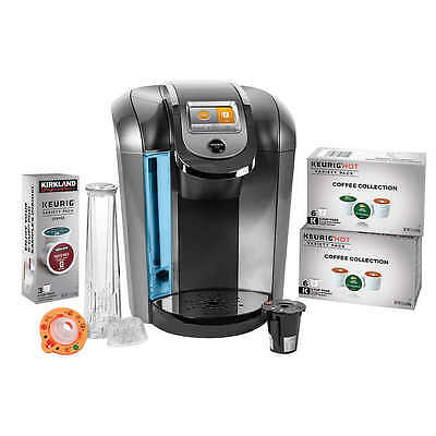 Keurig K525c Single Serve Coffee Maker  15 K Cup Pods And My K Cup 2 0 Reusable