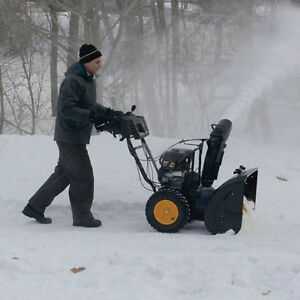 "Poulan Pro 30"" Snowblower-$1700 New-1 winter use in small drive"