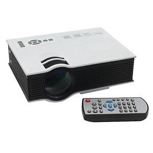 Home Cinema Mini Projector LED Lamp, HDMI,USB. 800x480. $125