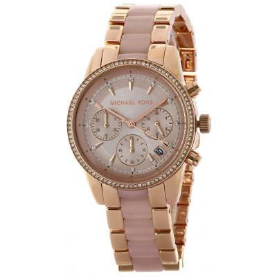 73ae161a9df3 Michael Kors MK 6307 Women s Ritz Rose Gold-Tone Watch