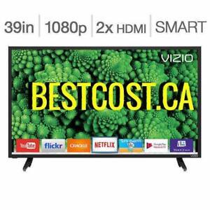 Télévision DEL 39'' D39F-E1 1080p 120hz Smart Wi-Fi Vizio