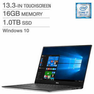Dell XPS 13 - New Sealed Core i7-8550U 16GB RAM 1TB SSD