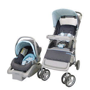 Car seat and stroller (travel combo)