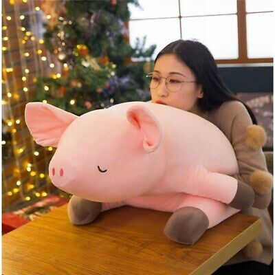 1 Pcs Pink Color Plush Toy Big Ear Pig Stuffed Pillow Doll Gift Size 80cm/31.4