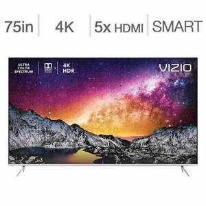 Télévision LED TV 75 POUCE P75-F1 4K ULTRA UHD HDR 240hz SmartCast WI-FI Vizio - BESTCOST.CA