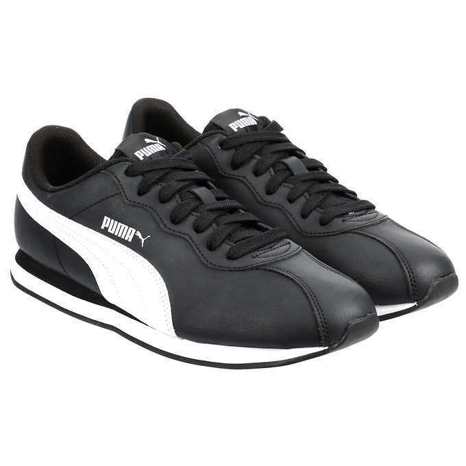 NEW!! Puma Men's Black Turin Sneaker Shoes Variety in Size