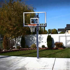 54-in. In-ground Basketball System Basketball Net