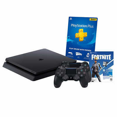 Sony PlayStation PS4 1TB Console+2 DualShock Controller+Fortnite NeoVersa Bundle