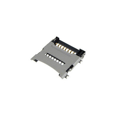Tf Micro Sd Card Slot Connector Hinged Type Surface Mount Qty5