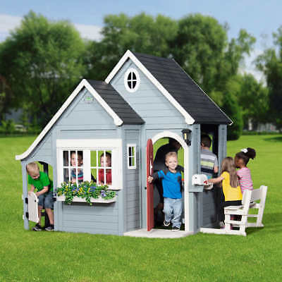 Backyard Discovery Spring Cottage Cedar Playhouse for sale  USA