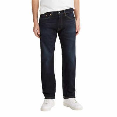 Men's Levi's 505 Regular Fit Straight Leg Jeans - Choose Color & Size