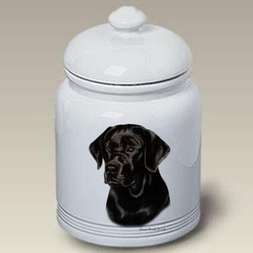 Black Labrador Retriever Treat Jar