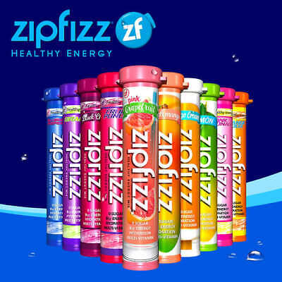 Zipfizz Healthy Energy Drink Mix, 30 Tubes - FREE SHIPPING! BEST (Best Energy Powder Mix)