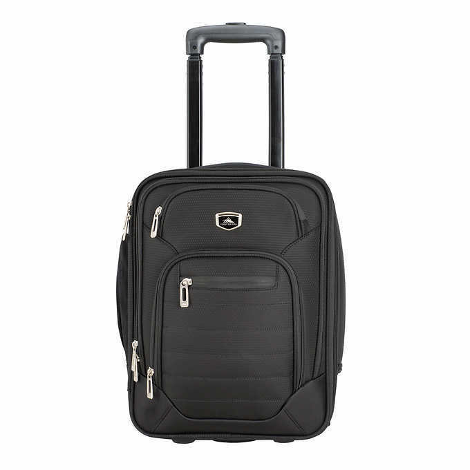 High Sierra Wheeled Under Seat Carry-on Luggage Suitcase