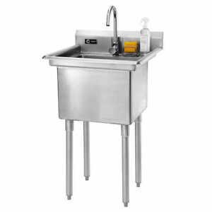 Stainless Steel Utility Sinks | eBay