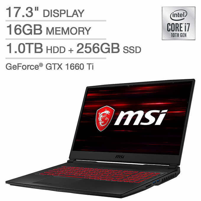 NEW MSI GL75 Leopard 10SDR-011 Gaming Laptop Notebook 144 Hz