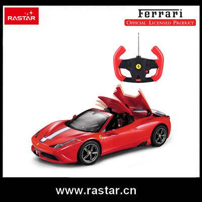 Ferrari Official Licensed 458 Speciale R/C Remote Control Racing Car 1:14 Rastar