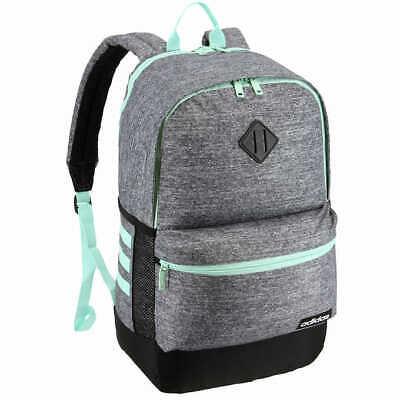 adidas Core Advantage Backpack Tech Friendly Grey-Black/Green Stripe