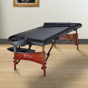 Master Roma II 30-in. Portable Massage Table & Accessories