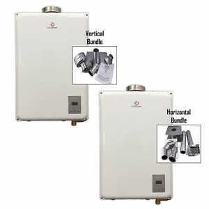 Eccotemp 45HI Propane / Natural Gas Tankless Water Heater + vent