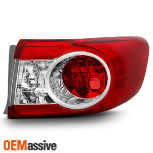 [Original Style] 2011 2012 2013 Toyota Corolla Passenger Side Outer Tail Light