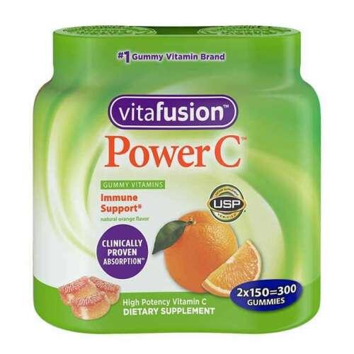 vitafusion Power C Immune Support Vitamin C, 300 Adult Gummies