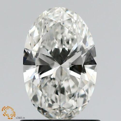OVAL Shape 1.01 CT. CVD Lab Grown Diamond  E Color, VVS2 Clarity, 1 PIECE