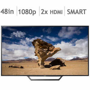 Sony KDL48W650D 48-Inch 1080P Smart LED Television