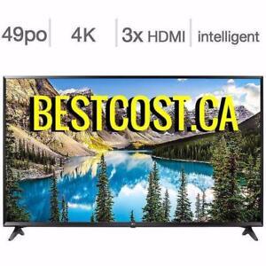 Télévision DEL 49'' 49UJ6300 4K UHD HDR WebOS 3.5 Smart LG