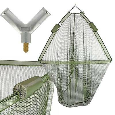 LARGE LANDING NET CARP PIKE FISHING with DUAL NET FLOAT SYSTEM 42 INCH NGT
